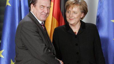 """Altkanzler Schröder: """"Neuwahlen spätestens Frühsommer 2019"""""""