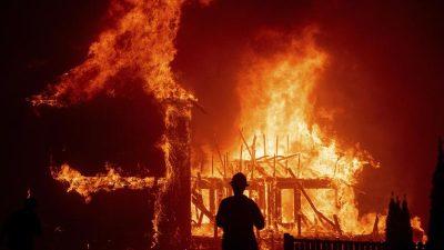 """""""Held der Flammen"""" bekämpfte Feuer im Alleingang – 77-Jähriger lehnte für seine Tiere Evakuierung ab"""