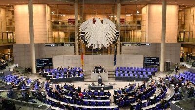 """Steuerzahlerbund fordert Begrenzung: """"500 Bundestagsabgeordnete sind genug"""""""