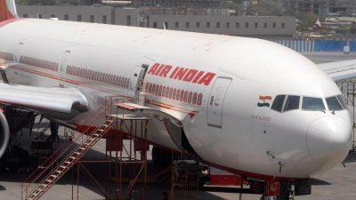 """Bombendrohung: Air-India-Flugzeug muss wegen """"Sicherheitswarnung"""" zwischenlanden"""