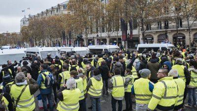 Gelbwesten in Frankreich: Weitere Großdemo am Samstag geplant – trotz Furcht vor Provokateuren und inszenierter Gewalt