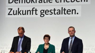 LIVE aus Berlin: Regionalkonferenz der CDU-Kandidaten