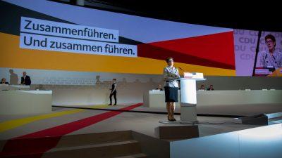 CDU erhält sich mit Kramp-Karrenbauer auf weitere Jahre alle Machtoptionen