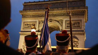 Distanz zu Macron: Offener Brief von Generälen und Ex-Verteidigungsminister für eine Volksabstimmung über UN-Migrationspakt
