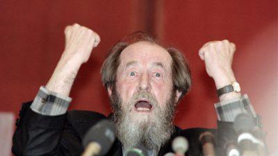 Russischer Geistesgigant und Mahner vor totalitärem Wahn: Alexander Solschenizyn wäre heute 100 Jahre alt geworden