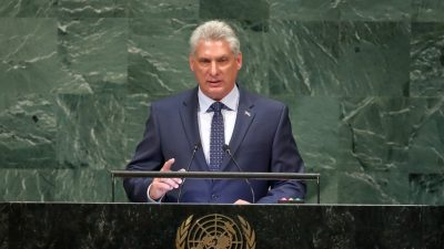Kuba baut Beziehungen zu Russland und zum kommunistischen Block wieder auf
