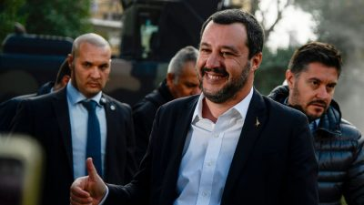 "Italien: ""Capitano"" Salvini weiter im Aufwind"
