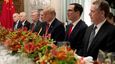 Amerika ging 2018 in die Offensive gegen China