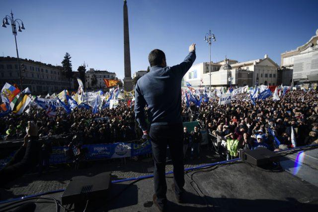 """""""Plan für Europa"""": Salvini sieht Schlüsselrolle Italiens und Polens für politische Wende in der EU"""