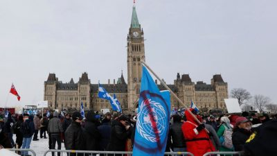 Zusammenstöße bei Protesten gegen UN-Migrationspakt in Kanada