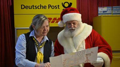 """""""An den Weihnachtsmann"""" – Weihnachtspostamt in Himmelpfort kürt die drei schönsten Wunschzettel"""