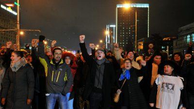 Festnahme von Anführer von Protestbewegung in Bosnien führt zu Aufruhr
