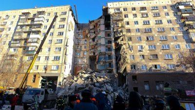 Magnitogorsk: Putin besucht Opfer von Gasexplosion