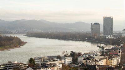 Hochwasserwarnung für Teile Bayerns und am Rhein