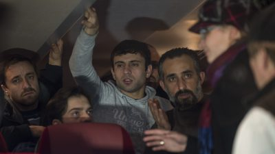 Erschreckende Szenen: Amberger auf der Flucht vor betrunkenen gewalttätigen Asylbewerbern