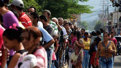 """""""Menschliche Katastrophe"""" im sozialistischen Venezuela – ein einst reiches Land verfällt in Rezession, Armut und Gewalt"""