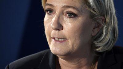 """Marine Le Pen zum Terror in Straßburg: """"Nichts ist passiert im Kampf gegen den islamistischen Todeskult"""""""