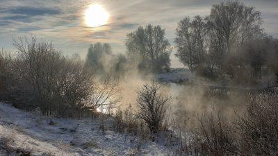 Das neue Jahr bringt Sturm und Kälte