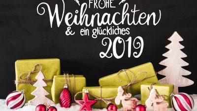 Geschäfte-Öffnungszeiten zu Weihnachten (2018)