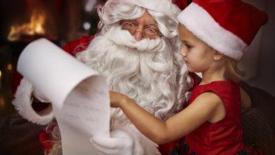 3-Jährige dachte, sie sieht den Weihnachtsmann im Geschäft – Eine magische Begegnung
