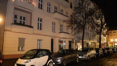 Mann in Berlin auf offener Straße erschossen