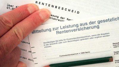 Rentenversicherung erwartet vier Milliarden Euro Überschuss