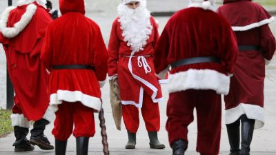 Deutschland, wo sind deine Weihnachtsmänner?
