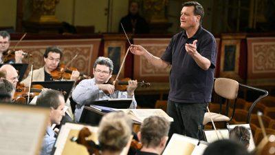 Erstmals dirigiert Christian Thielemann das Wiener Neujahrskonzert