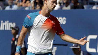 Tennisprofi Kohlschreiber verliert in erster Runde von Doha