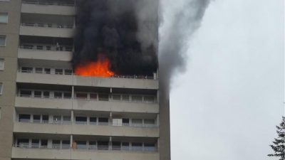Fünfjährige stirbt bei Hochhausbrand