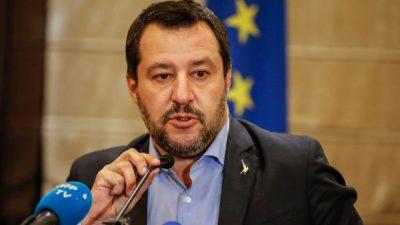Salvini live im TV: Schlepper telefonieren mit NGO-Schiffen – vereinbaren Treffpunkte im Mittelmeer