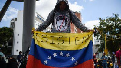 Maduro und Guaidó buhlen um Unterstützung des Militärs