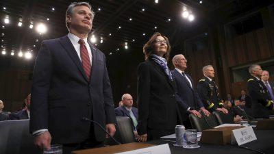 US-Geheimdienstchefs warnen vor wachsender Bedrohung der Sicherheit durch China