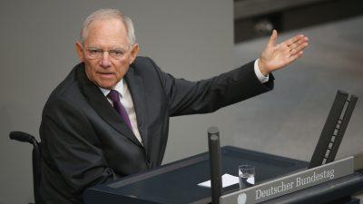 Schäuble: Kein Rechtsanspruch auf Vizepräsidentenposten für AfD im Bundestag