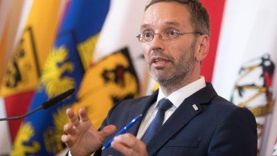 """Kickl schießt gegen Kurz: """"Es gibt keine Staatskrise, eher eine ÖVP-Machtkrise"""""""
