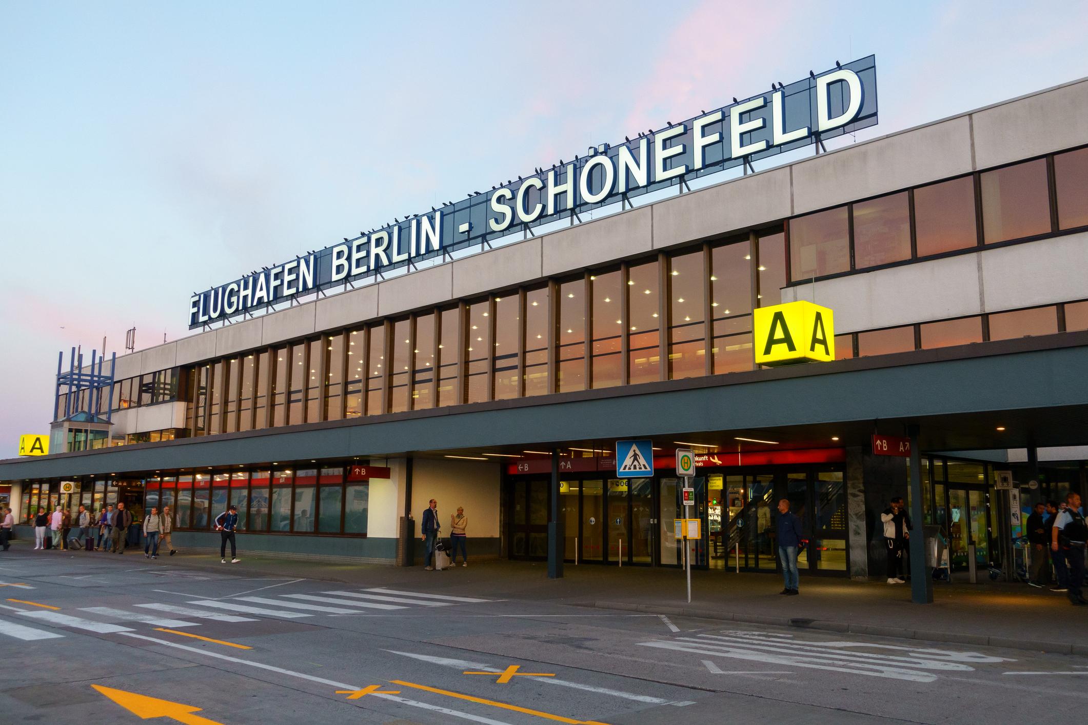 DDR-Flughafenterminal Schönefeld wird am Montag geschlossen