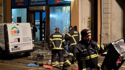 Linksextremisten rufen zur militanten Offensive gegen die AfD in Sachsen auf