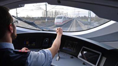 Streiks bei der Bahn vom Tisch – Einigung mit Lokführern