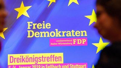 """FDP zweifelt an wirtschaftspolitischem Neuanfang mit Kramp-Karrenbauer – sie sei eine """"Boom-Bremse"""""""