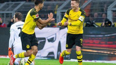 Hakimi Doppelschlag bringt Dortmund einen 2:0-Sieg gegen Slavia Prag