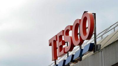 Britische Supermarktkette Tesco streicht bis zu 9000 Jobs