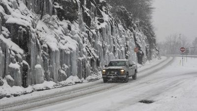 Wetterdienst warnt vor Polarwetter in weiten Teilen der USA