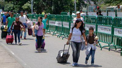 Venezolaner wissen kaum noch wo sie Lebensmittel herbekommen sollen