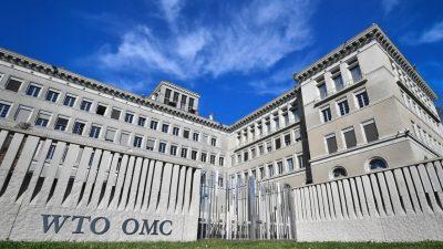 WTO: Welthandel wird dieses Jahr um 8,8 Prozent zulegen