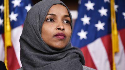 Empörung über muslimische Kongressabgeordnete – Omar vergleicht USA und Israel mit Hamas