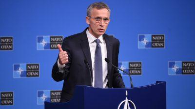 Nato-Generalsekretär will INF-Abrüstungsvertrag retten