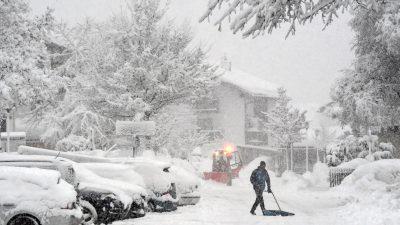 Wetter: Bayern, Sachsen und Südtirol versinken erneut im Schnee