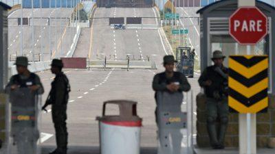 Venezuela schließt Grenze zu Brasilien: Hilfslieferungen werden weiterhin blockiert