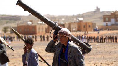 Huthi-Rebellen im Jemen wollen Angriffe auf Saudi-Arabien beenden