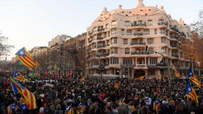 Generalstreik: Weitere Proteste in Katalonien
